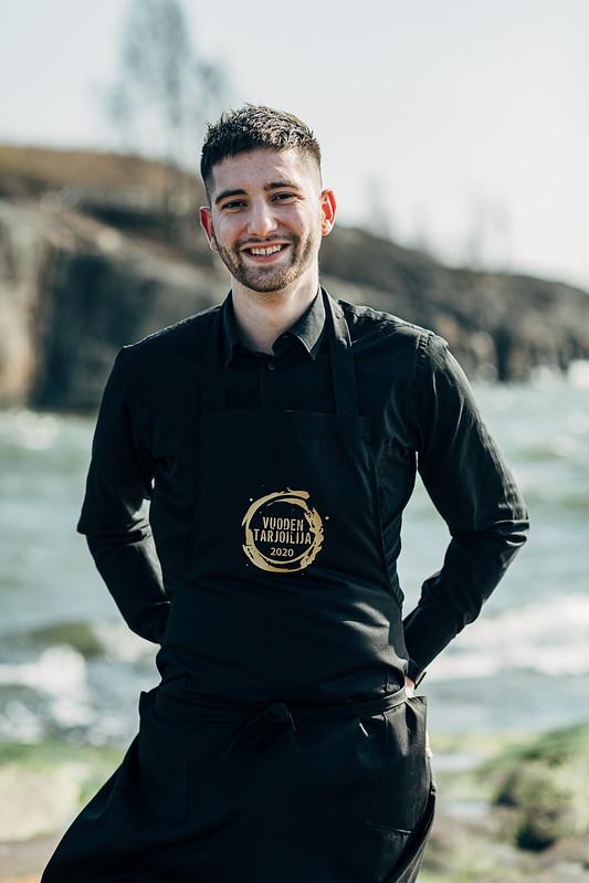 Ranskalaisia ja samppanjaa – Vuoden Tarjoilija Christian Angelov arvostaa elämyksiä ja hyvää palvelua